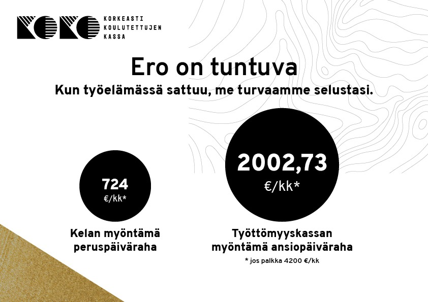KOKO-kassa Ero on tuntuva A4 4200 €